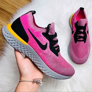 Nike Epic React Flyknit Plum Pink Dust